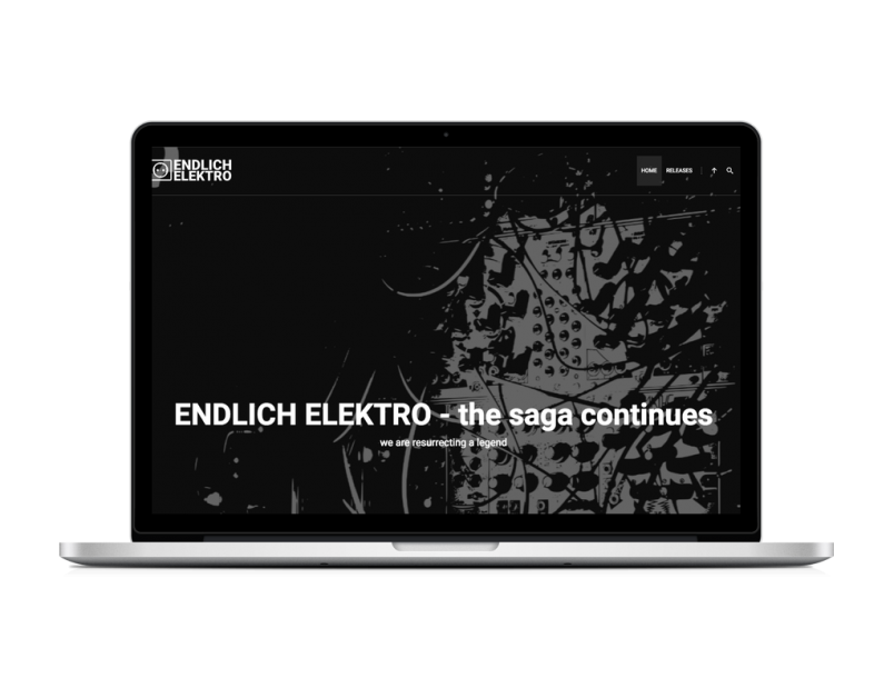 "Wordpress Site für Musik Label ""endlich elektro"""