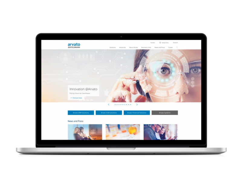 Arvato Website-Refresh